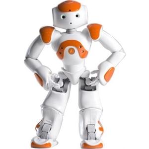 Nao - the robot that makes eye contact